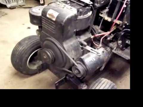 hp briggs stratton cast iron engine youtube