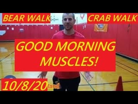 Good Morning Muscles S2 Episode 19: Teach Physical Education Gym at Home Kids Fitness Workout