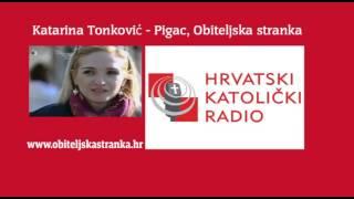 Gambar cover KATARINA TONKOVIĆ-PIGAC, OBITELJSKA STRANKA - GOSTOVANJE NA HKR-u