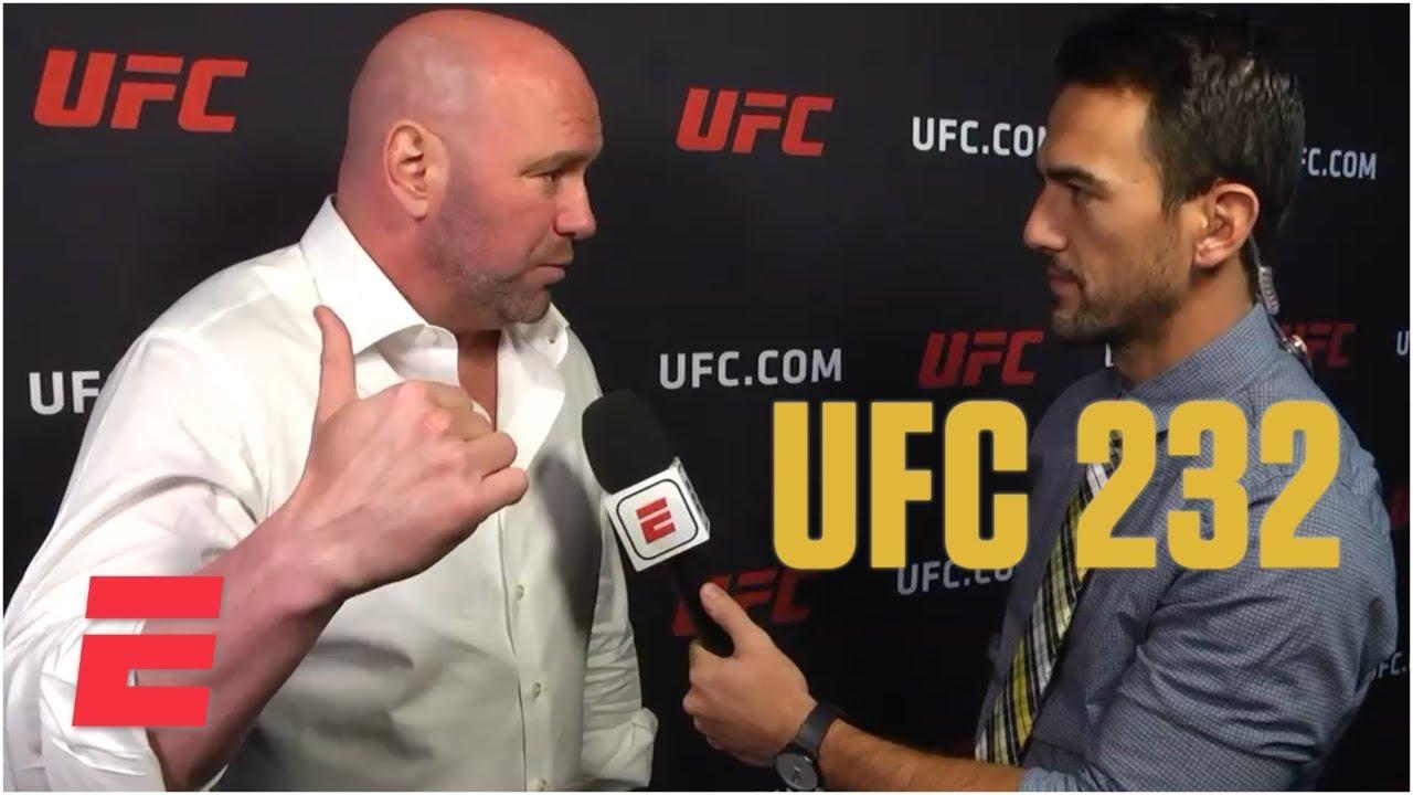 Dana White calls Jon Jones 'unbelievable after UFC 232 win | MMA Sound
