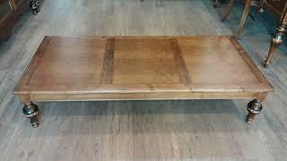 엔틱 거실 가구 메이플 원목 좌탁 거실 소파 테이블