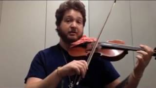 How to play Happy Birthday on Violin - Tutorial