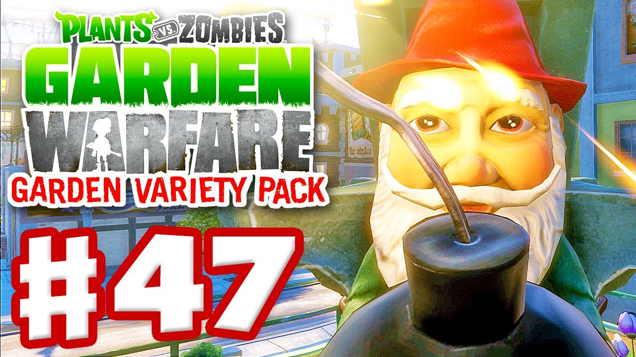 Plants Vs Zombies Garden Warfare Gameplay Walkthrough Part 47 Gnome Bomb Xbox One Youtube