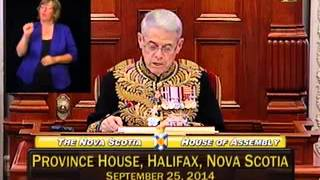Second Session of the 62nd General Assembly Speech from the Throne