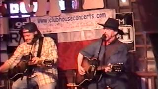 Rare Video!  Randy Rogers & Kent Finlay - October 6, 2004 - Clubhouse Concerts