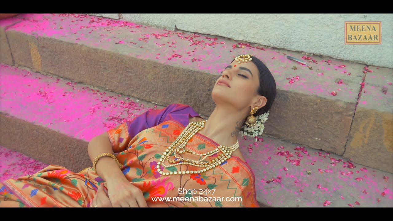 Meena Bazaar | Buy Sarees Salwar Kameez Suits Lehengas Anarkalis