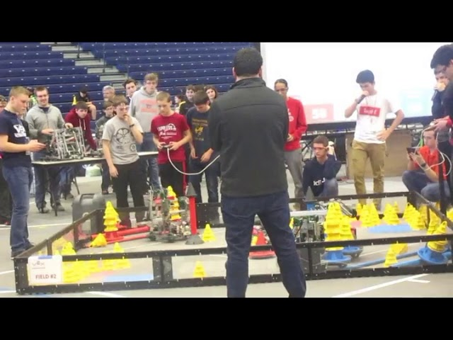 Vex Northern New York State Championships! In the Zone 2018