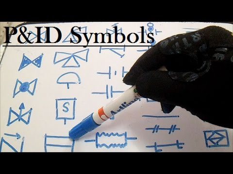 PID - Piping and Instrument Diagram Symbols Pipefitter - YouTube