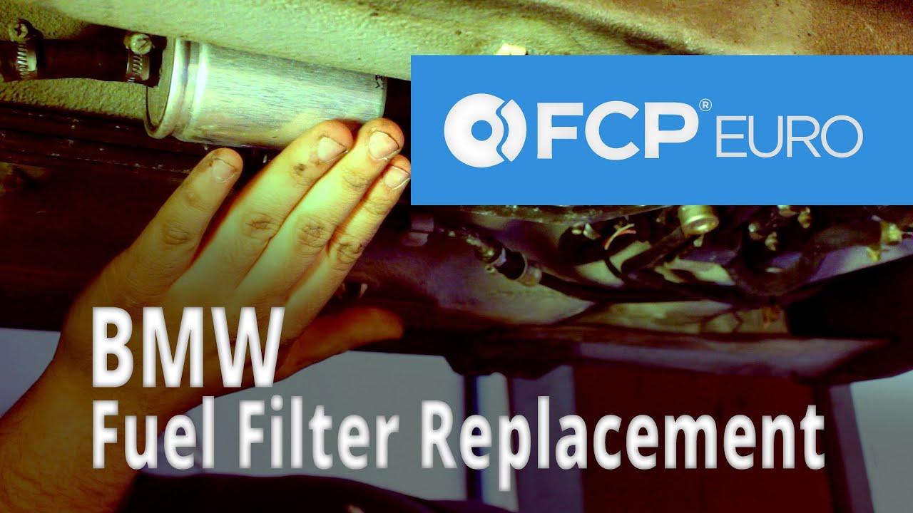 bmw fuel filter replacement 528i  [ 1280 x 720 Pixel ]