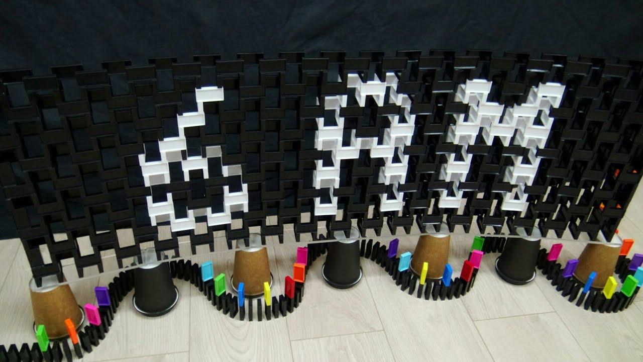 Five Nights at Freddy's 2 in Dominoes / Domino Art