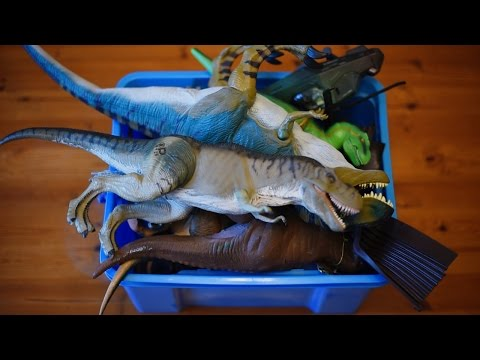Whats In My Dinosaur Toy Box??? My Childhood Box Of Dinosaur Toys!