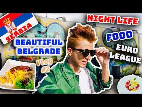 Beautiful Belgrade, Serbia Vlog #2   Nepal's Solo Travel Vlogger   Food, Nightlife, Euroleague 2018