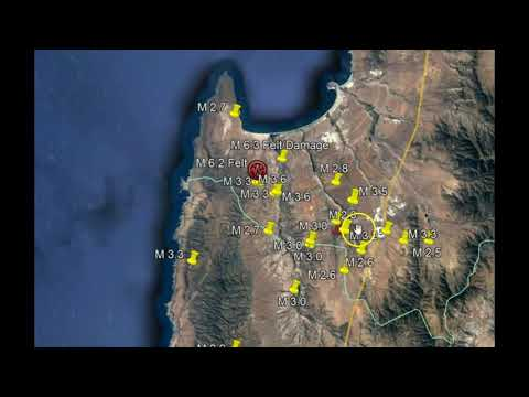 Surprise! Chile's Large M6.5 and M6.3 Earthquakes Cause by Severe Drought