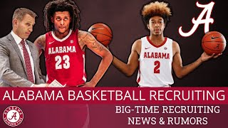 Alabama men's basketball recruiting news & rumors today: the 2020-21 sec season will be here before you know it. nate oats and staff are burning u...