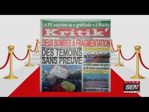 Revue des Titres de Presse avec Fabrice Ngueme du Mardi   05