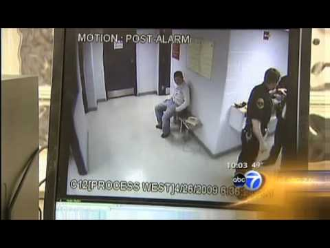 Caught on Tape Rosemont Illinois Police Taser Then Choke Handcuffed Man