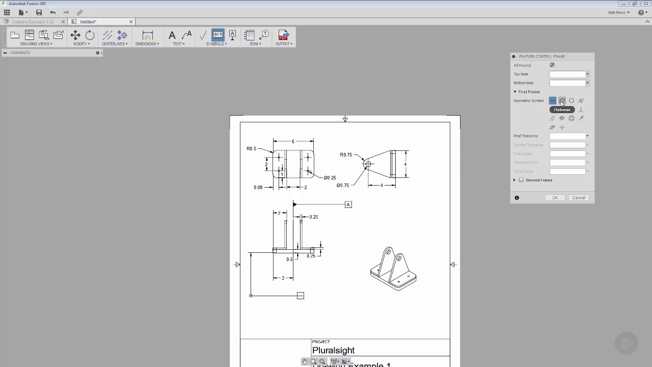 Working with Drawing Symbols in Fusion 360 - YouTube