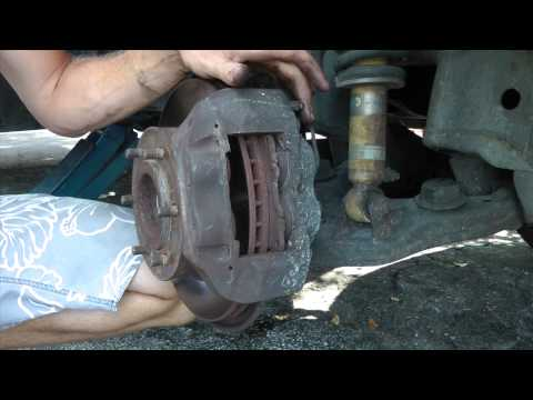 1998-2002 Toyota 4 runner,t100,tacoma DIY Front Brake Pads Replacement