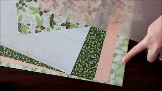 Reveal of the Stampin' Up! Floral Romance Specialty Designer Paper - Laura's Stamp Pad