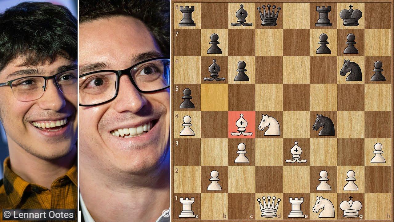 Download A Case of Double Blindness || Firouzja vs Caruana || Tata Steel (2021)