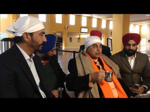 Dr Subramaniam Swamy at San Jose California Gurudwara Sahib