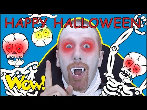Happy Halloween Songs with Steve and Maggie   Magic Speaking Stories for Kids with Wow English TV