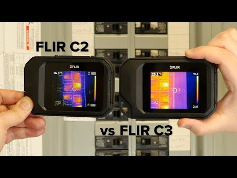 FLIR C2 vs C3 Compact Thermal Camera Comparison