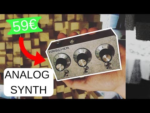 KRISCHER - Polyphonic Analog Synthesizer DEMO