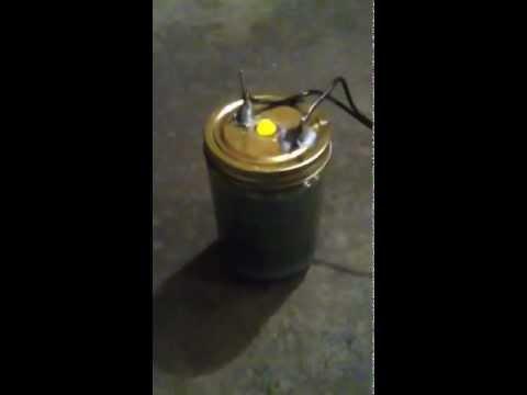 Homemade Hydrogen Stove