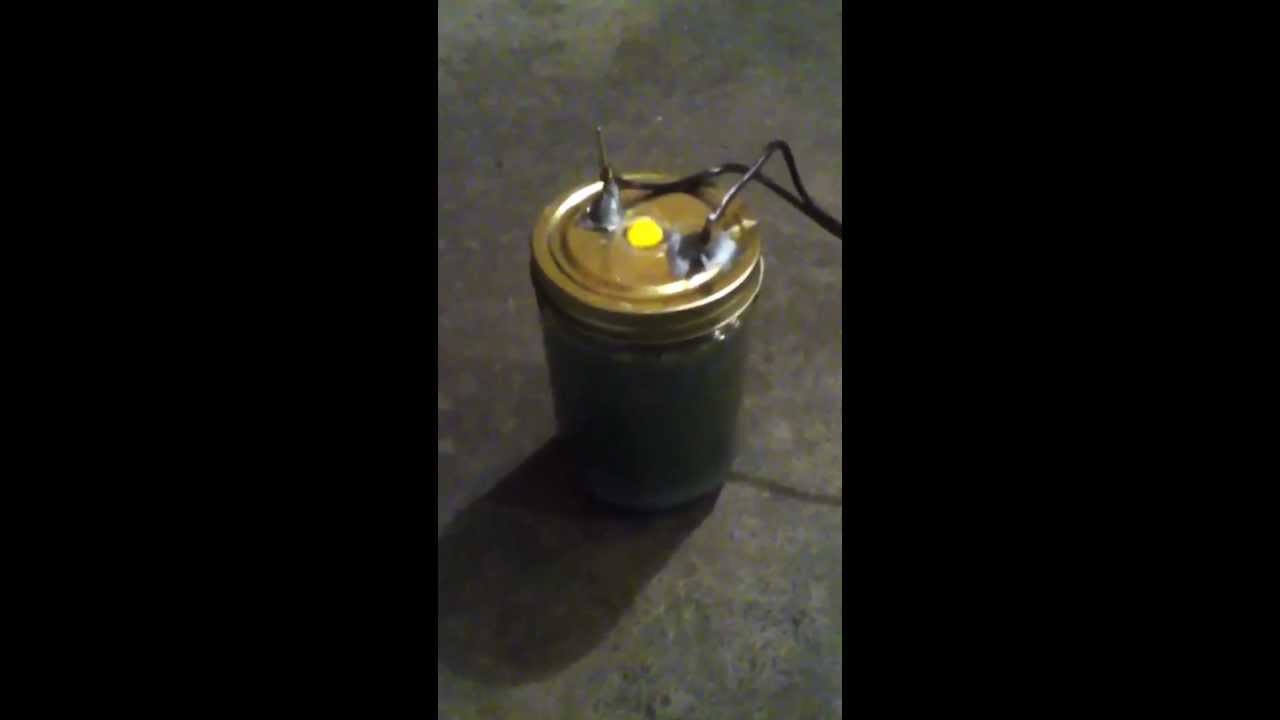 Homemade Hydrogen Stove - YouTube