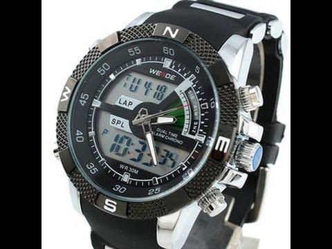 Мужские наручные часы Weide с Aliexpress