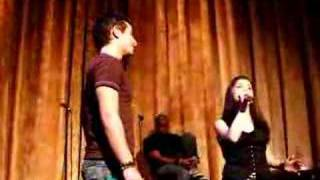 Ariana (age 14) and Frankie (age 25) singing Suddenly Seymour from Little Shop of Horrors!