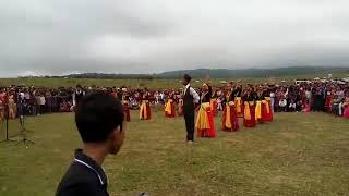 Maruni Dance Gorkha traditional dance performed by youths of Umrongso Assam India