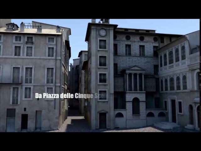 Viaggio virtuale nel Ghetto Ebraico di Roma prima della demolizione