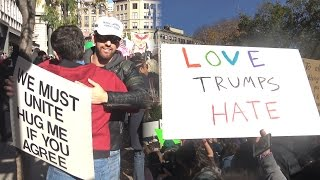 Trump Supporter at Trump Protest (Social Experiment)