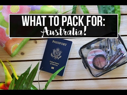 TRAVEL // What to Pack for a Weekend in Australia [COLLAB w/ SeeKaysee]