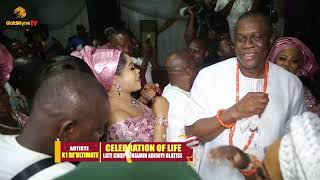 CELEBRATION OF LIFE LATE CHIEF BENJAMIN ADENIYI OLATISE, K1 DE ULTIMATE PERFORMS OLDIES