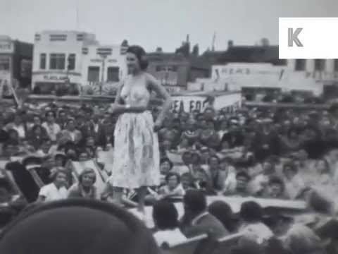 1950s Redcar, Sunday Mirror Beauty on the Beach Pageant
