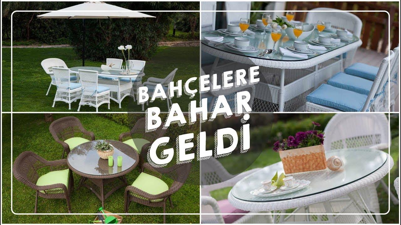 Bahçe Mobilyaları 2019