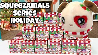 Squeezamals Holiday Series Blind Boxes