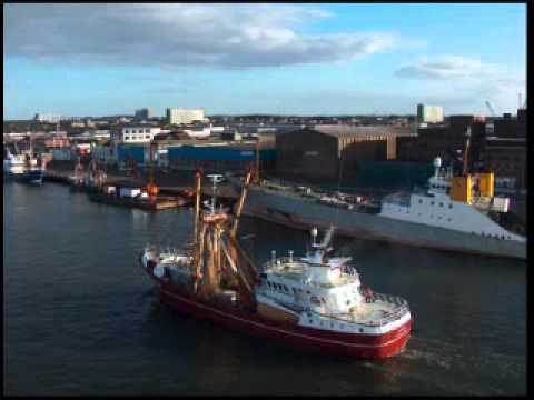 Ijmuiden and Northsea - Travel to Scotland (2006)