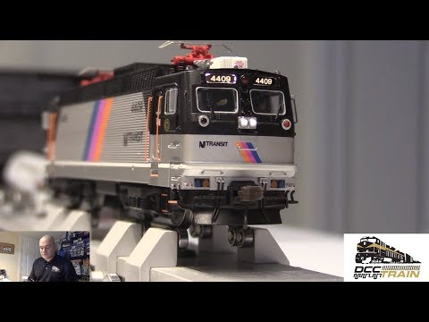 AEM-7 ALP-44 NJ Transit 4409 Amtrak 902 HO Scale Model Train Electric Locomotive railway lines