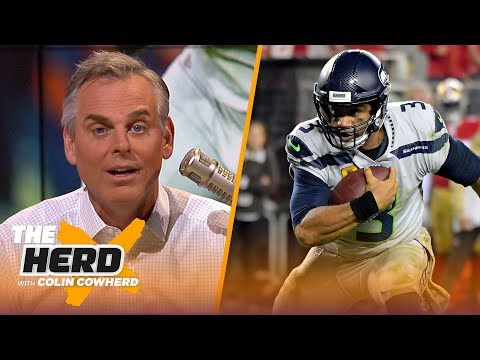 Colin is in awe of Russell Wilson's performance, isn't worried about Garoppolo   NFL   THE HERD