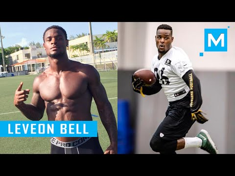 Le'Veon Bell Speed Drills for Football   Muscle Madness