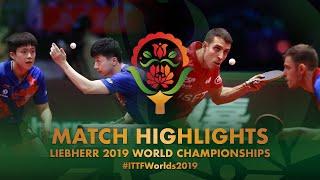 Ma Long / Wang Chuqin vs Alvaro Robles / Ovidiu Ionescu | final | WTTC-2019