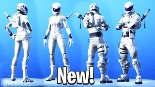 NOUVEAUX SKINS WHITEOUT & OVERTAKER (New Vanishing Skins Set) ! Fortnite Battle Royale