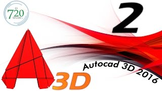 Curso Básico Autocad 3D 2016 Parte 2 - Tutorial para Principiantes - En Español