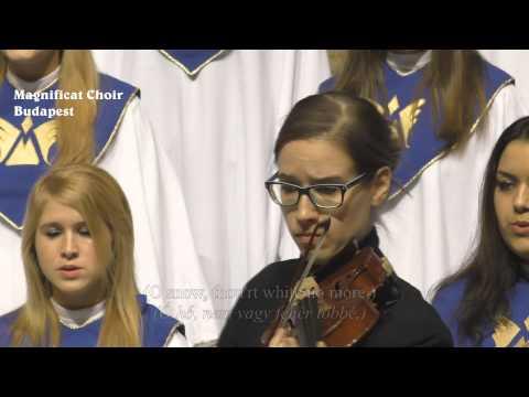 Magnificat Choir Budapest - E. Elgar: The snow - 2014.12.20. Szt. István Bazilika