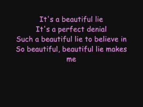 30 Seconds to mars - A beautiful lie Lyrics
