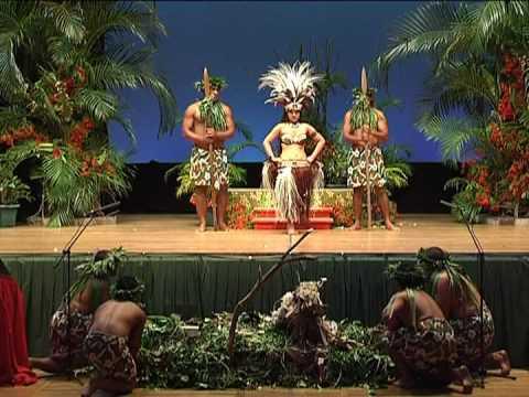 Te Eiva Kuki Airani Dance Competition Rarotonga 2008 (Senior Champion Slow Beat)